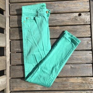 🍉2 for $20🍉 Turquoise Skinny Pants